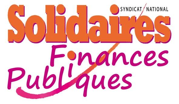 Logo Solidaires Finances Publiques