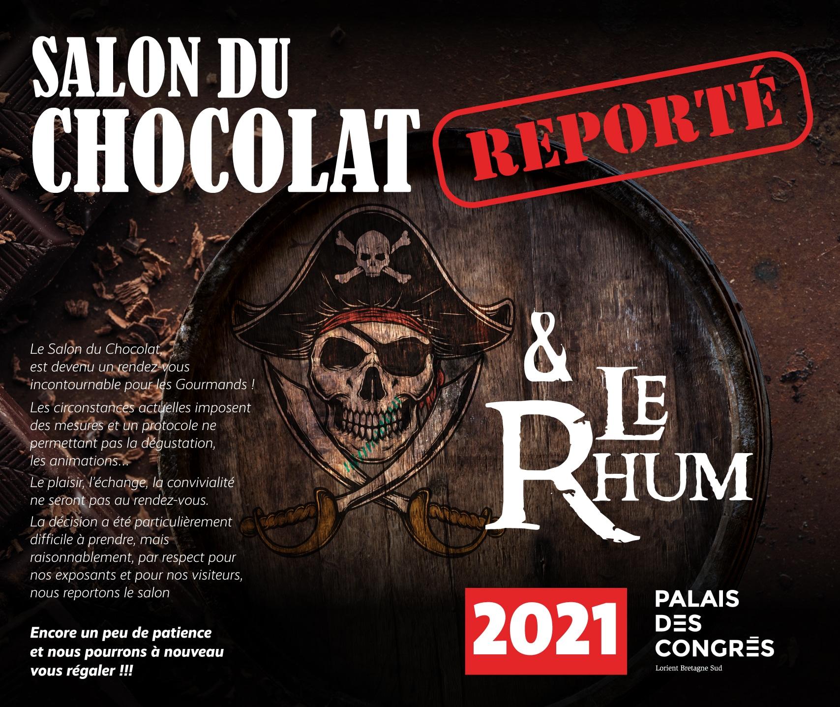 salon du chocolat reporté