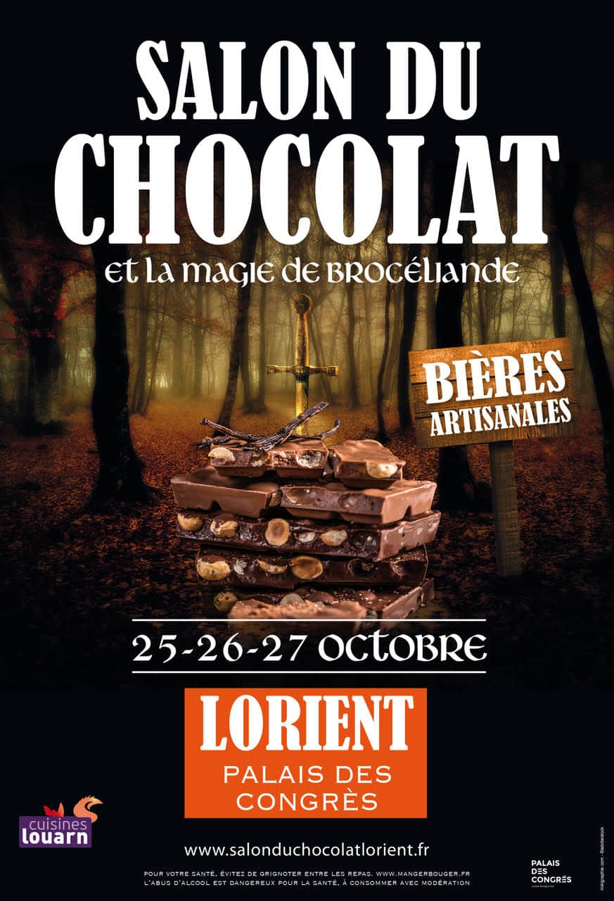 salon du chocolat et la magie de Brocéliande !