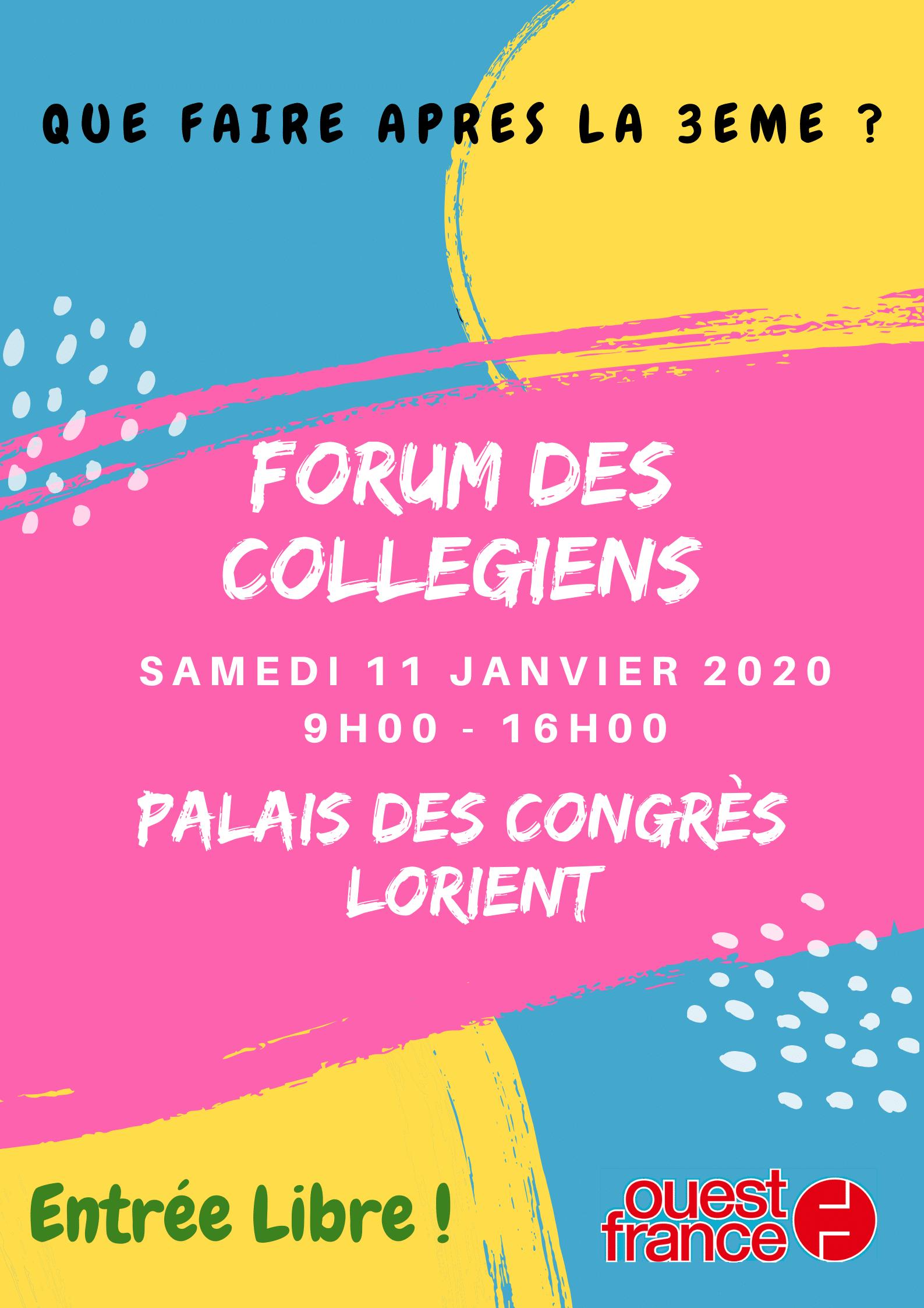 forum collègiens 2019