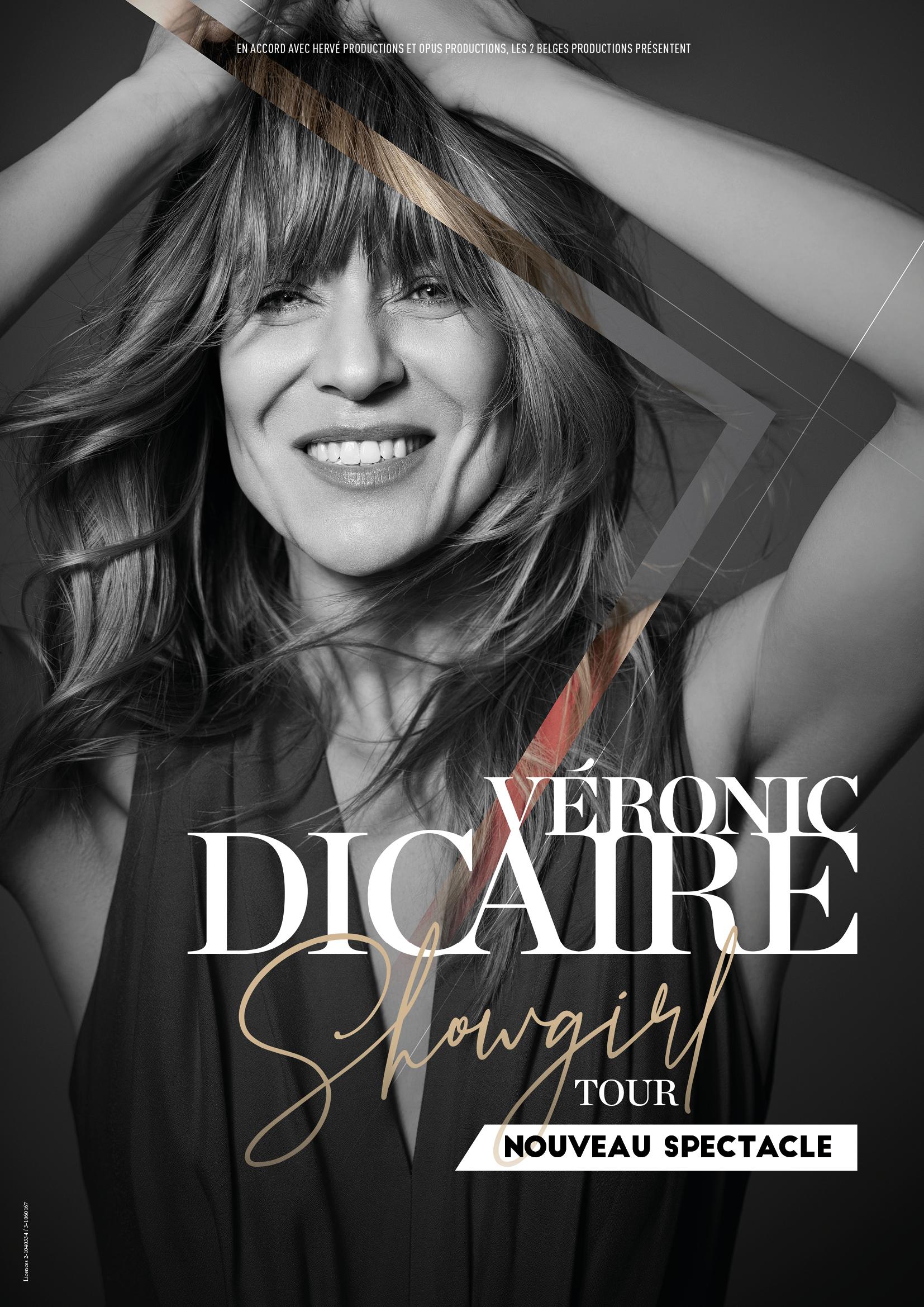 Véronic Dicaire Parc des Expositions Lanester Spectacle Showgirl Dance