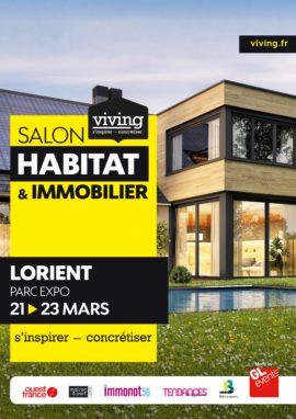 Salon Habitat et Immobilier Parc Exposition Lanester Rénovation Amenagement Construction Maison