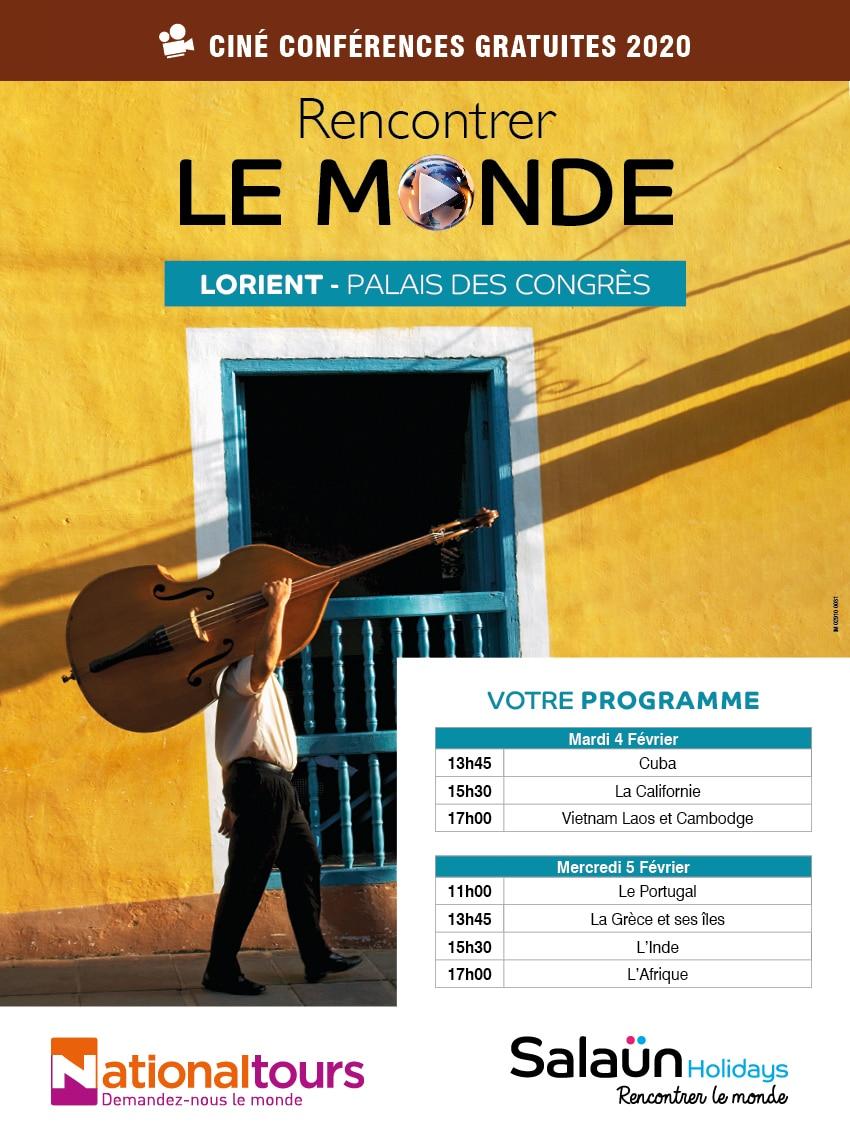 Rencontrer le Monde Palais des congrès Lorient Voyage