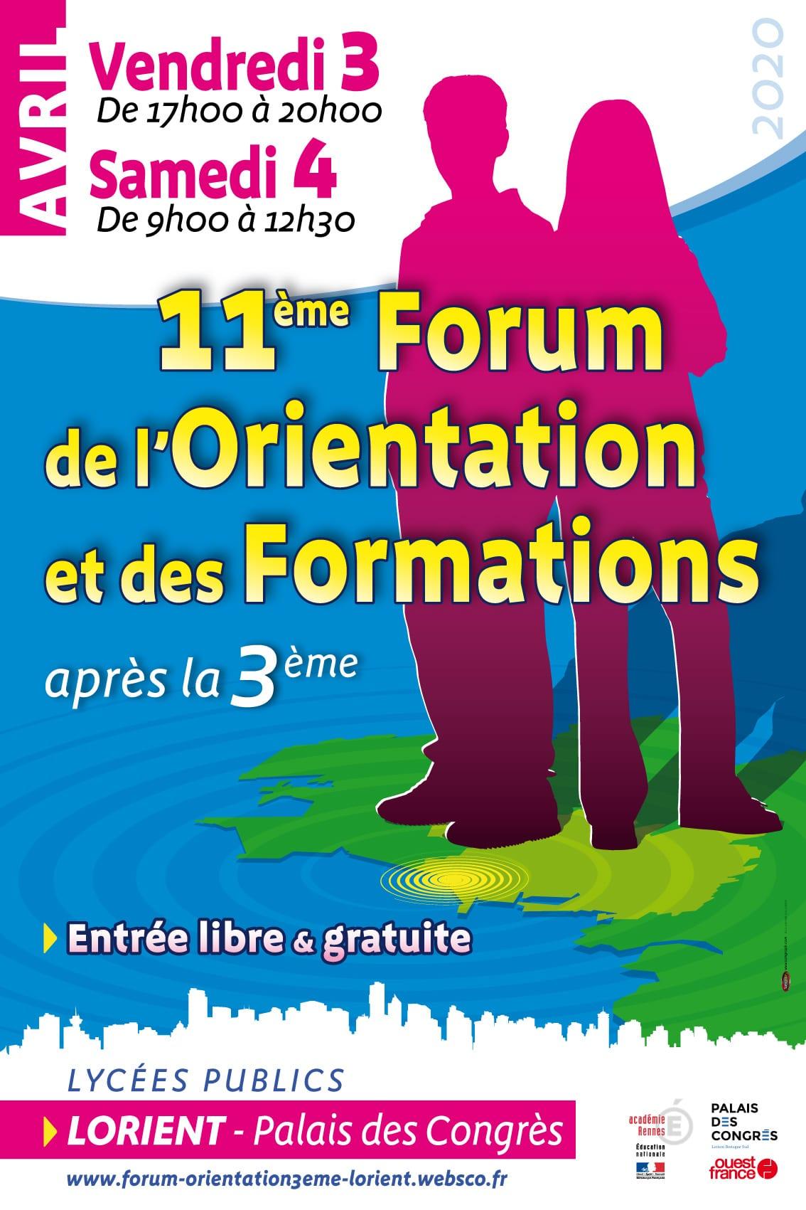 11ème Forum de l'Orientation et des Formations après la 3ème